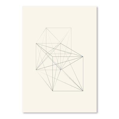 Americanflat Chalk Sketch Star Graphic Art