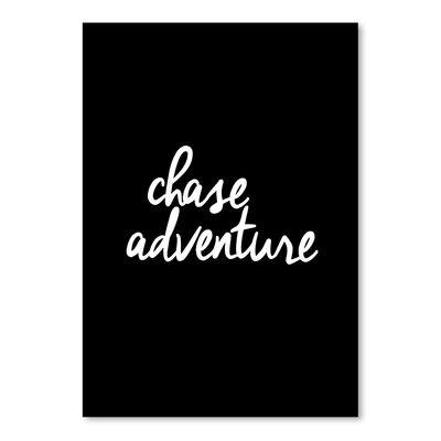Americanflat Chase Adventure Typography on Canvas