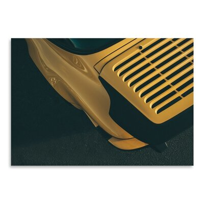 Americanflat Gold Photographic Print Wrapped on Canvas