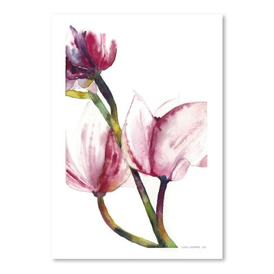 Americanflat Magnoila 1 Art Print Wrapped on Canvas