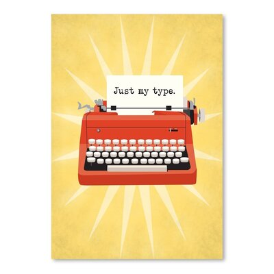 Americanflat Vintage Typewriter 2 Graphic Art