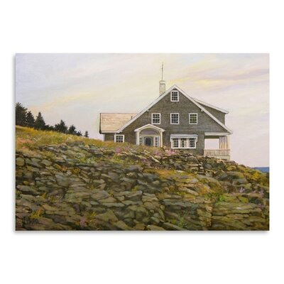 Americanflat Kent House Art Print Wrapped on Canvas
