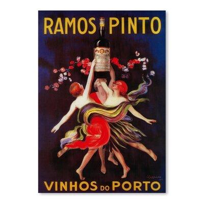 Americanflat Ramos Pinto Vintage Advertisement