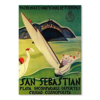 Americanflat San Sebastian Vintage Advertisement
