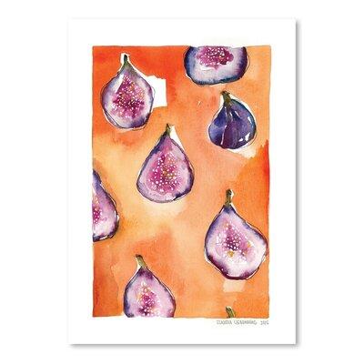 Americanflat Pattern Fig Art Print
