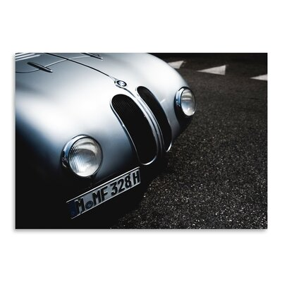 Americanflat BMW Grey 2 Photographic Print Wrapped on Canvas