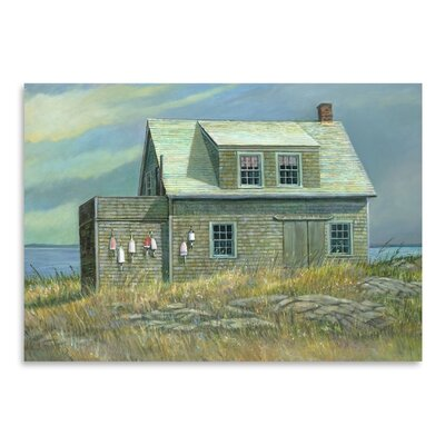 Americanflat Island Rental Art Print Wrapped on Canvas