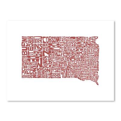 Americanflat South Dakota 2015 Graphic Art
