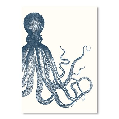 Americanflat Offset Octopus Sea Detailed Graphic Art