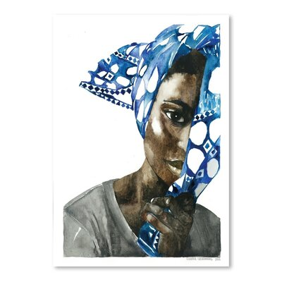 Americanflat Africanpride 1 Art Print Wrapped on Canvas