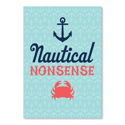 Americanflat Nautical Nonsense Graphic Art