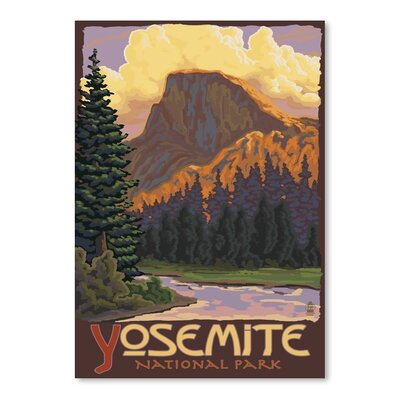 Americanflat 8512 Vintage Advertisement Wrapped on Canvas