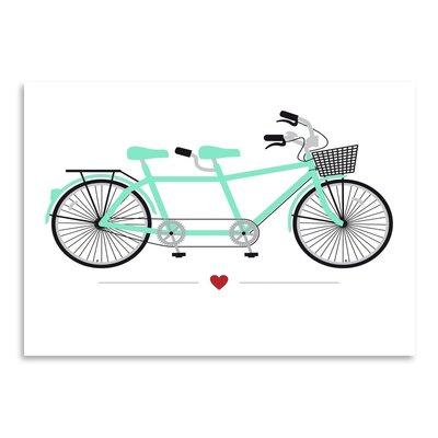 Americanflat Tandem Bike Graphic Art
