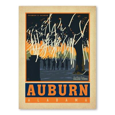 Americanflat Asa Auburn Vintage Advertisement
