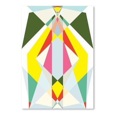 Americanflat Geometric Multi 2 Graphic Art on Canvas