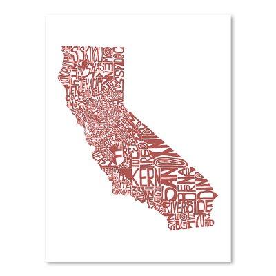 Americanflat California 2015 Typography