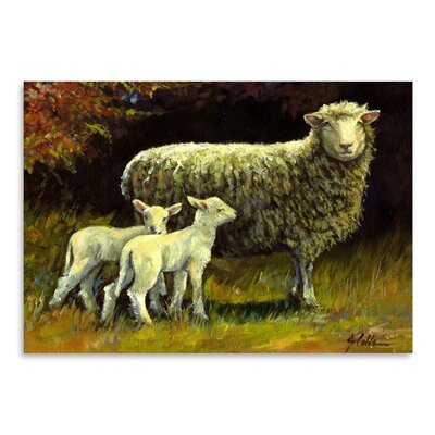 Americanflat Mothers Day Art Print Wrapped on Canvas