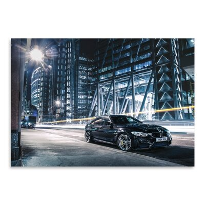 Americanflat Car Photographic Print in Black