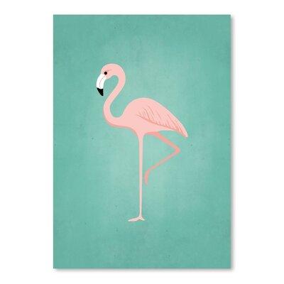 Americanflat PalmSprints Flamingo Graphic Art