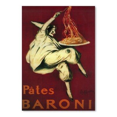 Americanflat Pates Baroni Vintage Advertisement