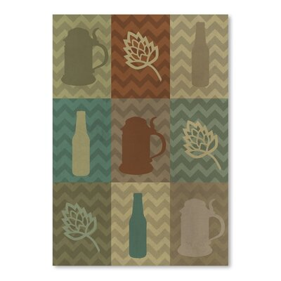 Americanflat 49775 Graphic Art Wrapped on Canvas