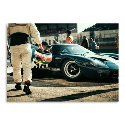 Americanflat Ford 38 Photographic Print Wrapped on Canvas