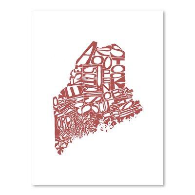 Americanflat Maine 2015 Graphic Art