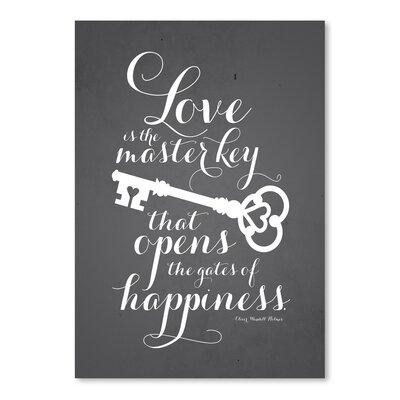 Americanflat LoveKey Typography