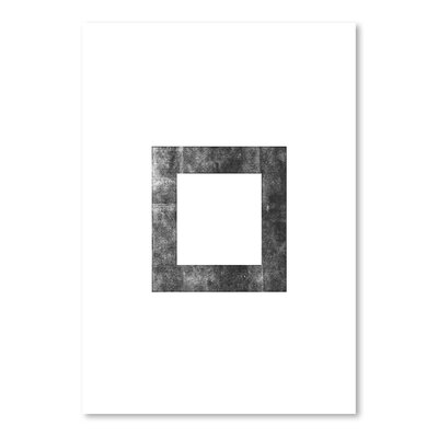 Americanflat Square Graphic Art Wrapped on Canvas