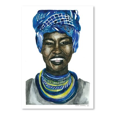 Americanflat Africanpride 3 Art Print Wrapped on Canvas