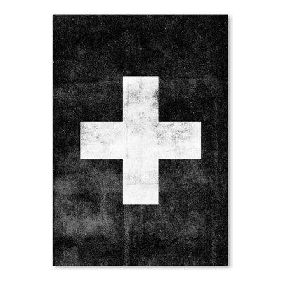 Americanflat Swiss Cross Art Print