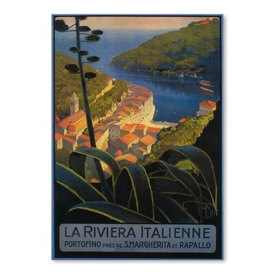 Americanflat La Riviera Italienne Vintage Advertisement