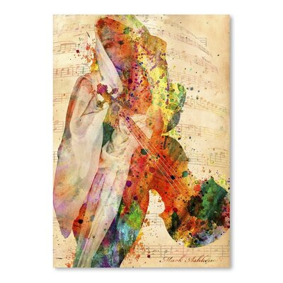 Americanflat 12795918 Art Print Wrapped on Canvas