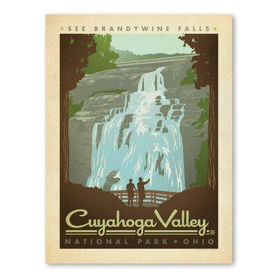 Americanflat Asa National Park Cuyahoga Vintage Advertisement