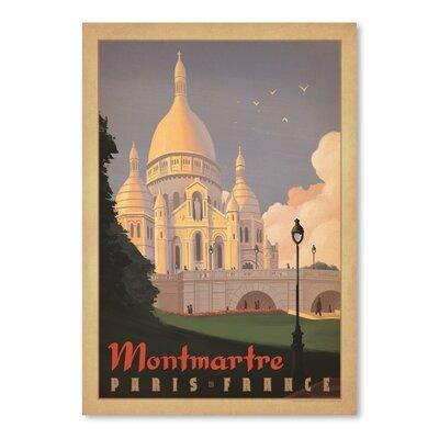 Americanflat WT Paris Mont Marte Vintage Advertisement