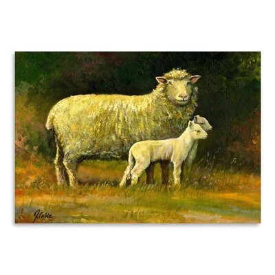 Americanflat Mother of Twins Art Print Wrapped on Canvas