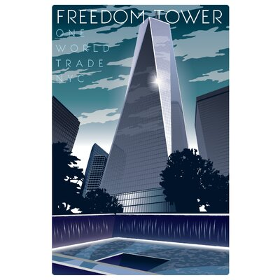 Americanflat Freedom Tower Graphic Art