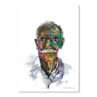 Americanflat Rainbow Man Art Print