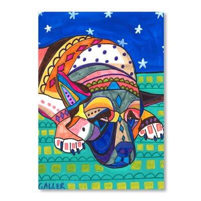Americanflat Akita Dog Art Print