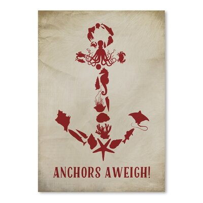 Americanflat Anchors Aweigh 2 Graphic Art