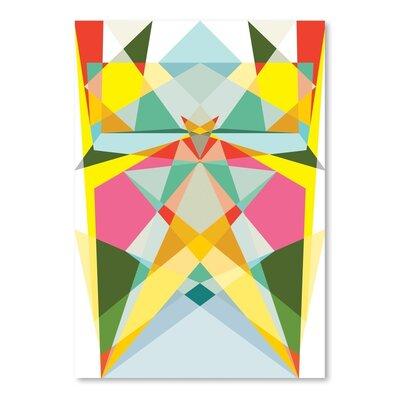 Americanflat Geometric Multi 1 Graphic Art on Canvas