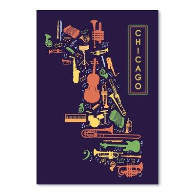 Americanflat Chicago Jazz Graphic Art