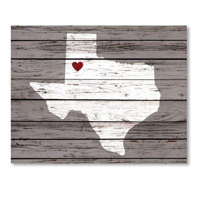 Americanflat Location of My Heart Art Print