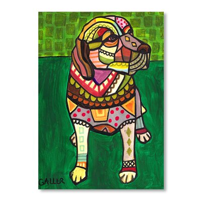 Americanflat Labradors Art Print Wrapped on Canvas