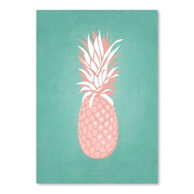 Americanflat PalmSprints Pineapple Graphic Art