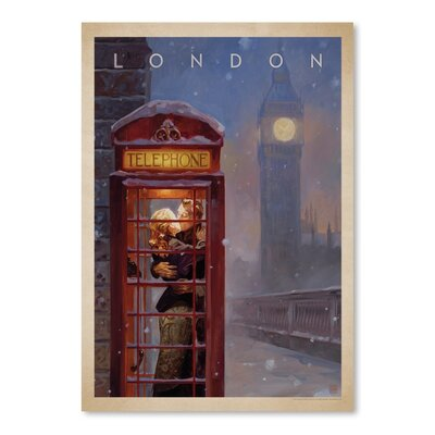 Americanflat London Kai Carpenter Art Print Wrapped on Canvas