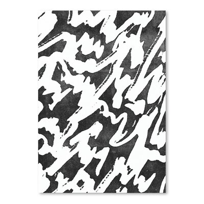 Americanflat Fashion Art Print Wrapped on Canvas