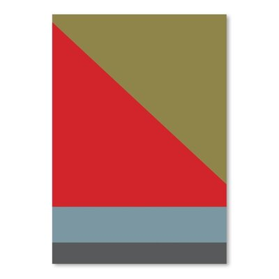 Americanflat Abstract 2B Graphic Art Wrapped on Canvas