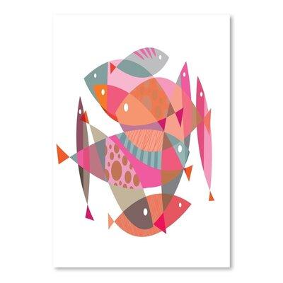 Americanflat Fish Graphic Art