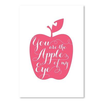 Americanflat Fruit Apple Graphic Art